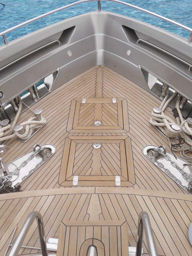 Teak Burma Deck, Peftasteri Yacht