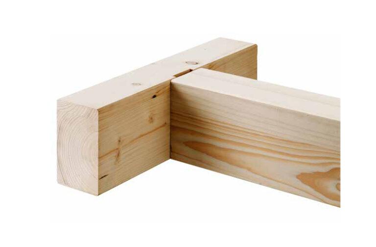 καλαίσθητες συνδέσεις ξύλινων δοκών μεταξύ τους με τη χρήση κρυφών συνδέσμων