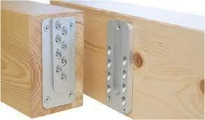 Κρυφοί σύνδεσμοι (wood to wood) συνδέσεις ξύλινων δοκών μεταξύ τους